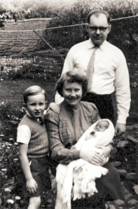 Dennis, Roy, Betty and Janis Manterfield (1957)