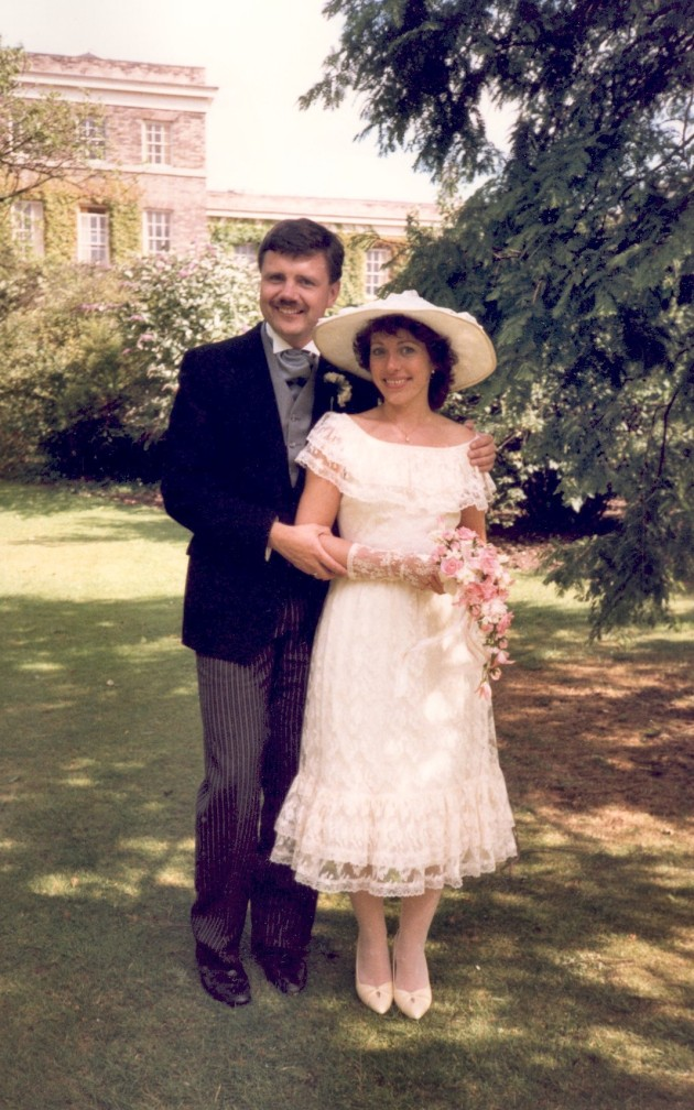 John and Janis Lewin's Wedding (2 August 1986)