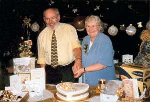 Dennis and Betty Manterfield's Golden Wedding (22 Aug 1998)