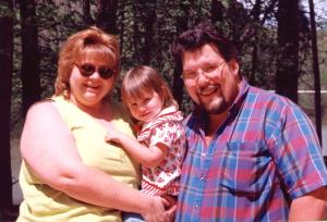 Nita, Leslie and John Manterfield (24 April 1996)