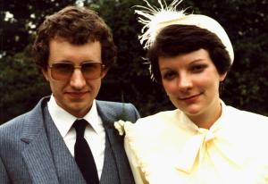 Roy and Sue Manterfield's wedding (24-July-1982)