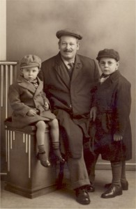 Allan, Albert and Dennis Manterfield (Dec 1933)