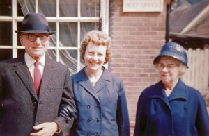 Ernest Swinard, Betty Manterfield and Rose Swinard (1968)