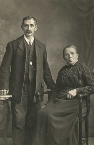 George and Martha Duddridge - George Weallan's Grandparents (c1915)