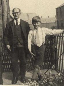 George Duddridge with George Weallans (c1930)