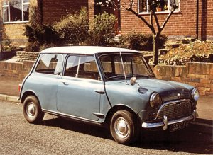 Mini owned by the Manterfields in early 1970s
