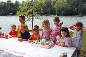 Leslie's 3rd birthday (05-May-1996)