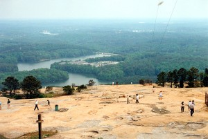 View from Stone Mountain, Georgia (6-May-1996)