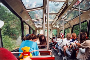 Incline Railway, Lookout Mountain, Chattanooga (10-May-1996)