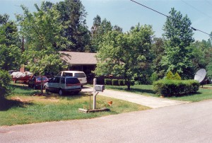 Terry and Harold Rider's home (12-May-1996)