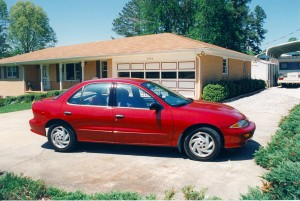 The Chevrolet Cavalier hire car