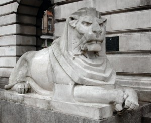 Left Hand Lion