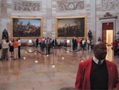 The Capitol and tour guide Nick (Oct 2009)