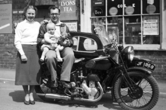 Betty, Dennis and Roy Manterfield by Legion Stores (1953)