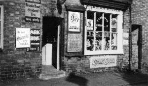 Legion Stores, 13 Front Street, Birstall (c1954)