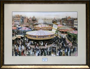 Goose Fair 1907 by Harry Haslam