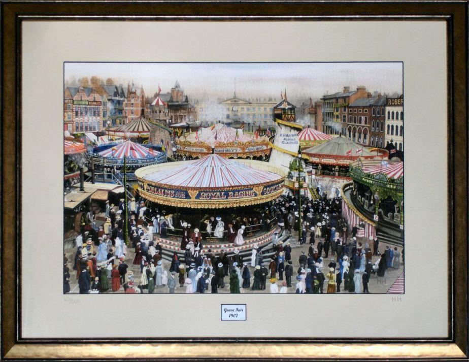 Goose Fair 1907 by Harry Haslam